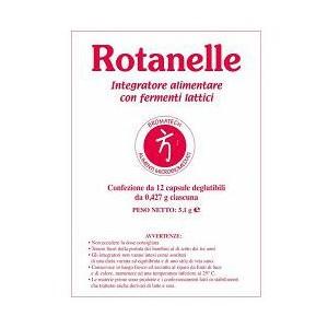 Rotanelle 12 capsule rotavirus,influenza intestinale