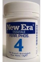 New Era 4 Ferrum phosphoricum (Fosfato di ferro) granuli orosolubili