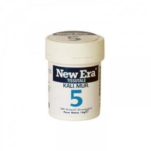 NEW ERA 5 Kalium Muriaticum (Cloruro di Potassio) granuli orosolubili