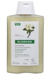 Klorane shampoo alla Cera di Magnolia 200 ml - lucentezza intensa e protezione, capelli spenti