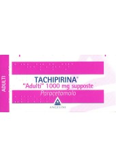 Tachipirina ad 10 supposte 1000 mg